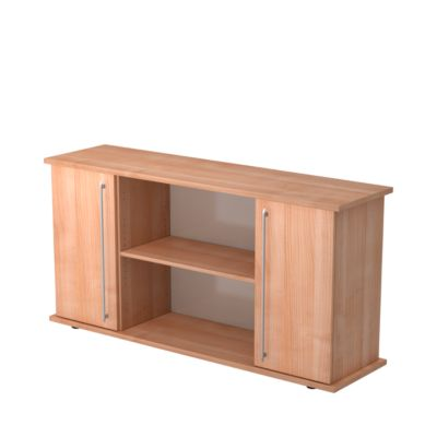 Sideboard met 2 deurtjes, notenhoutdecor