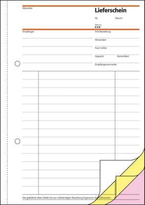 sigel® Lieferschein mit Empfangsschein SD012, DIN A5 hoch, selbstdurchschreibend