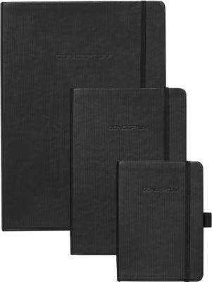 sigel® Notizbuch CONCEPTUM, DIN A4, kariert