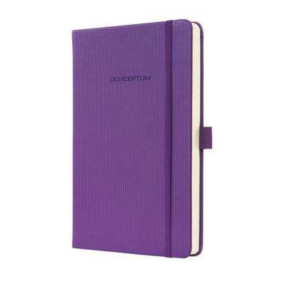 sigel® Notizbuch CONCEPTUM, liniert, DIN A5, Magic Purple