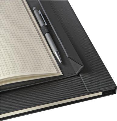 sigel® Notizbuch CONCEPTUM, mit Magnetverschluss, DIN A4+, kariert