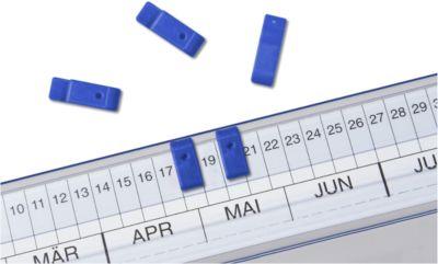 Signaal-etiketten, blauw