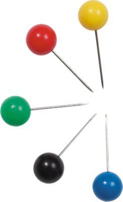 Signalnadeln, Großkopf, farbsortiert