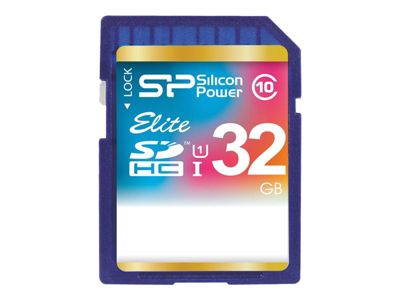SILICON POWER Elite - Flash-Speicherkarte - 32 GB - SDHC UHS-I