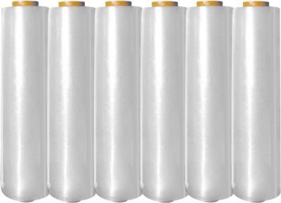 SIRAFLEXPLUS® Stretchfolie, 430 mm x 300 m, 12 my, 6 Rollen
