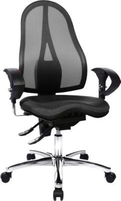 SITNESS 15 bureaustoel, met armleuningen, zwart