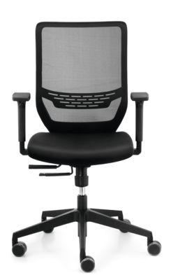 Sitz-Husse, für Bürostuhl to-sync work, nachrüstbar, schwarz