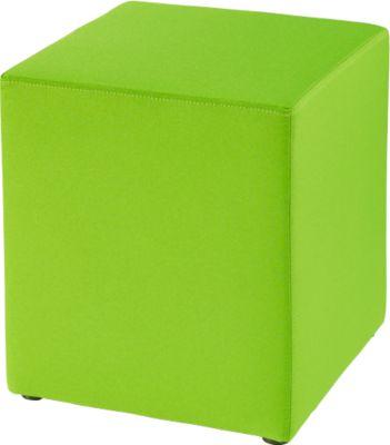 Sitzhocker Wall In, B 410 x T 410 mm, grün