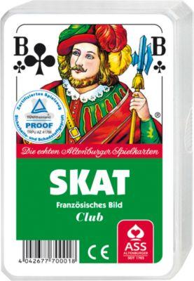 Skat-Spielkarten, neutral