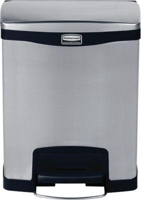 Slim Jim® Step- ON- Tretabfallbehälter, 30 L, dualer Inneneimer
