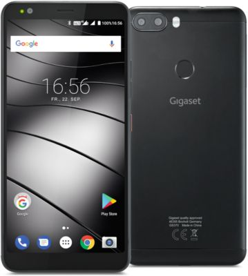 "Smartphone Gigaset GS370, 32 GB, Android 7.0, 14,4 cm/5,7"" Touch Display, schwarz"