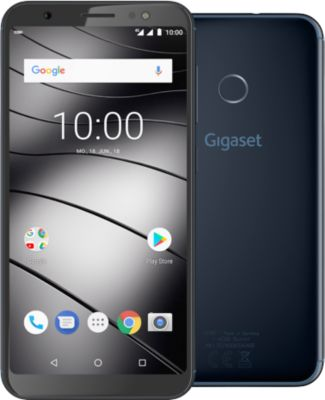 Smartphone Handy Gigaset GS185 Midnight-Blue, 16 GB, Android 8.1, 13,7 cm/5,5'', 4G LTE