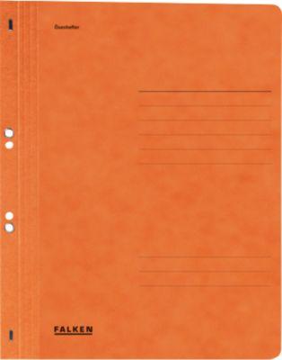Snelhechtmap voor in ringmappen, hele voorvlap, oranje