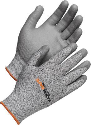 Snijbestendige handschoenen Snij 5-108, snijweerstand 5, EN388, HPPE/PU, naadloos, maat 9, 6 paar.