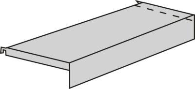 Sockelboden, mit Konsolen, für Variabo Freiarmregal, B 750 x T 350 mm