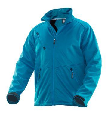 Softshell Jacke blau 3XL