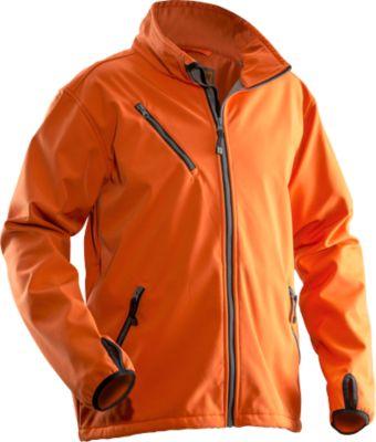Softshell Jacke  orange S
