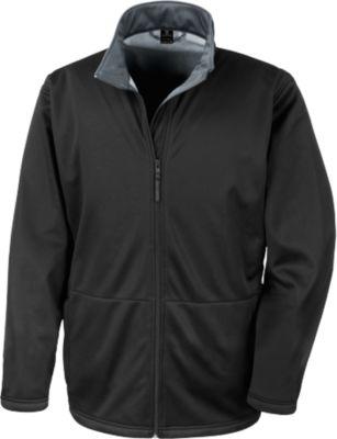 Softshell Jacket Man, schwarz, XL