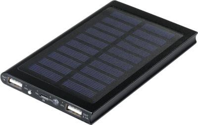 Solar Powerflat 8.000 mAh, schwarz