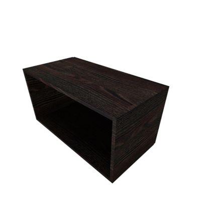 SOLUS PLAY open kast, 1 OH, B 800 x D 420 x H 374 mm, Moor-eiken