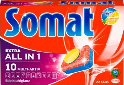 Somat 10 Tabs, Geschirrspültabs, Express-Kraft-Formel, 22 Tabs