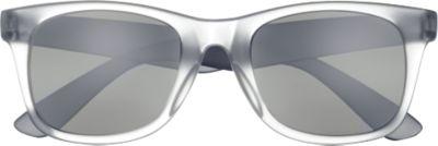 Sonnenbrille, aus ABS, UV 400-Schutz, schwarz