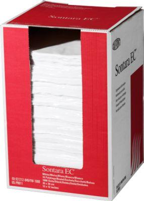 Sontara® EC Krepp Wischtücher, weiß, 1000 Tücher/Karton