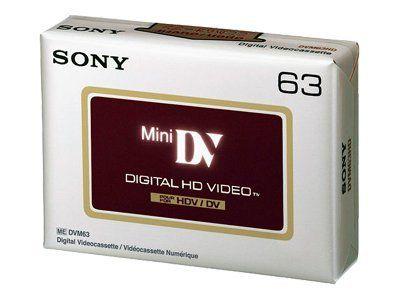 Sony DVM-63HDV Mini DV - 1 x 63 Min.