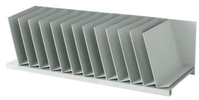 Sortierstation, DIN A4, Polystyrol, für Schränke, 12 Fächer, B 700 x T 310 x H 206 mm
