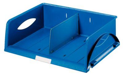 Sorty-sorteerbakjes A4 dwars, blauw