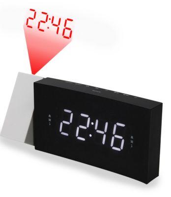 Soundmaster UKW-PLL Uhrenradio UR8600, USB-Anschluss, Betrieb Batterie u. Netzteil