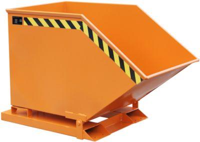 Späne-Kippmulde SKK 400, orange