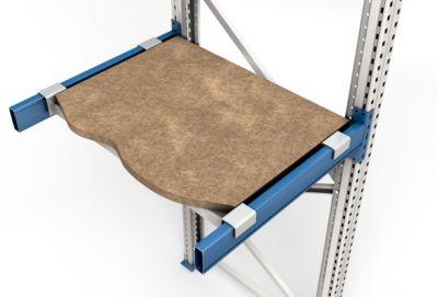 Spanplatte, eingelegt, Rahmentiefe 850 mm, lichte Feldweite 1900 mm