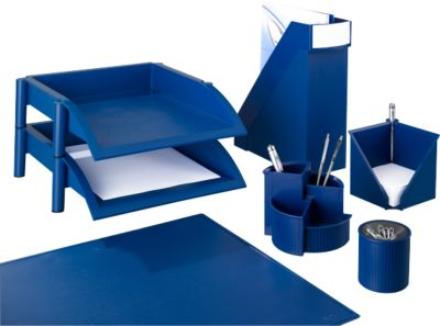 Spar-Set Linear, blau