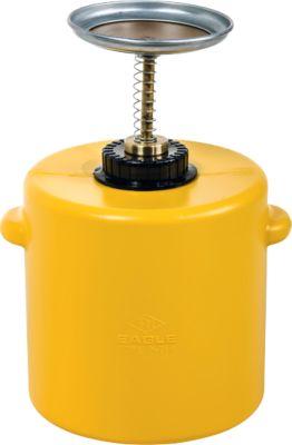 Sparanfeuchter aus Polyethylen STANDARD LINE, 1 l, gelb