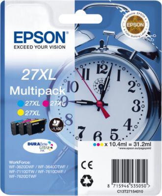 Sparpaket Epson Tintenpatronen T2715XL gelb, magenta, cyan