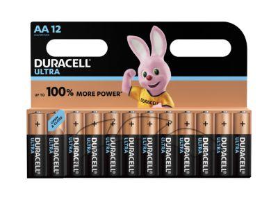 Sparset DURACELL® Batterien ULTRA, Mignon AA,12 Stück