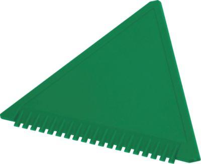 Sparset Eiskratzer Dreieck, 1-farbiger Werbeanbringung u. Grundkosten, 200 St., grün