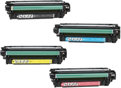 Sparset HP Color LaserJet CE250/251/252/252A Druckkassette