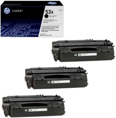 Sparset HP LaserJet Q7553X Druckkassette 3 x schwarz