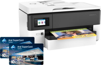 Sparset HP OfficeJetPro 7720 All-in-one + Gratis 20 Euro Aral-Kraftstoffgutschein
