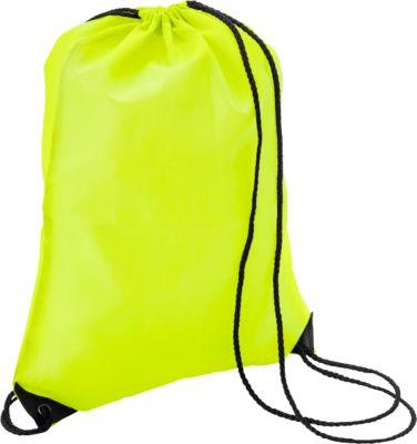 Sparset Schuhrucksack Basic, Polyester, einfarbiger Druck inkl. Grundkosten, 100 St., gelb