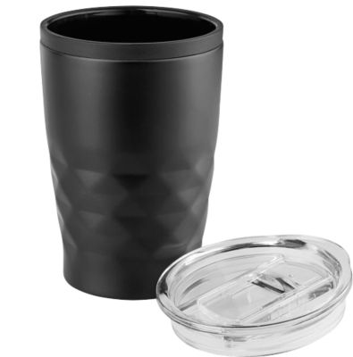 Sparset Trinkbecher Metmaxx® OfficeCupAroma, 25 Stück, 380 ml, inkl. Lasergravur & Grundkosten, schwarz