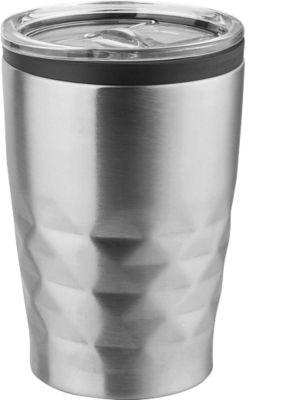 Sparset Trinkbecher Metmaxx® OfficeCupAroma, 25 Stück, 380 ml, inkl. Lasergravur & Grundkosten, silber
