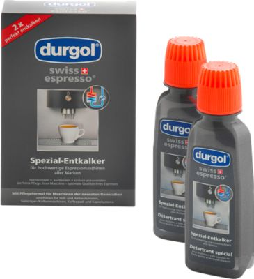 Speciale ontkalker Durgol® swiss espresso®