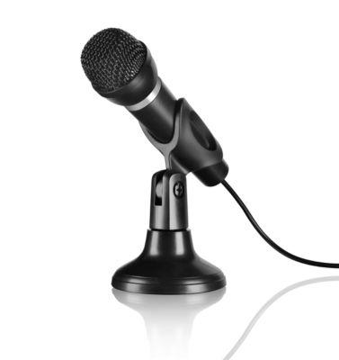 SPEEDLINK Mikrofon CAPO, Kabellänge 2 m, exzellente Aufnahmequalität, neigbar