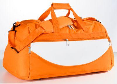 Sporttasche Champ, orange/weiß