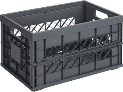 Square Heavy Duty Klappbox 45L anthrazit