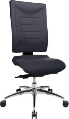 SSI PROLINE P3 bureaustoel, zonder armleuningen, anthraciet