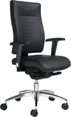 SSI PROLINE P3 Deluxe bureaustoel, zonder armleuningen, zonder hoofdsteun